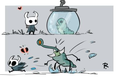 Hollow Knight, doodles 20 by Ayej