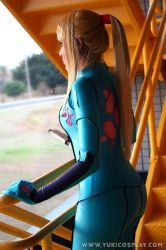 Metroid - Zero Suit Samus 5 by Yukilefay