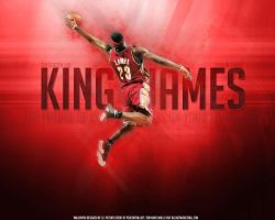 LeBron 'The King' James by J-L