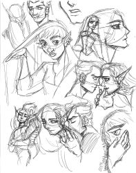 2018 GE Sketches by DrMistyTang