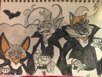 Zootopia vampire party by MurLik