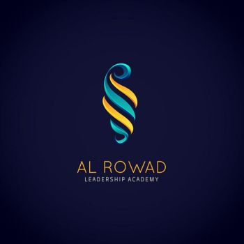 Rowad Leadership luxury logo design by ahmedelzahra