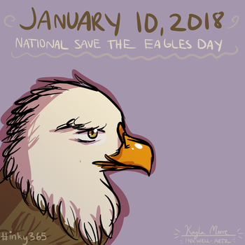 Save the Eagles Day by compassrose0425
