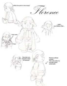 Florence the 'Pirate' by Alunthri
