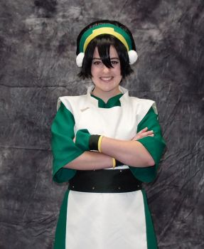 Toph Bei Fong - Avatar by Kyokyogirl