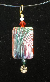 Candy Cane Abstract GW 8 by FourLis
