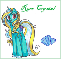 OC - Rare Crystal by OfficerPony