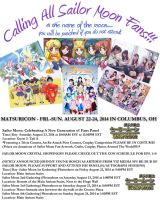 Matsuricon Sm Flyers 2014 by lilly-peacecraft