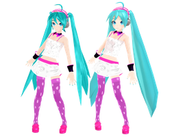PD redial miku DL by MikiMikuMMD
