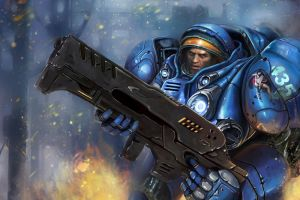 Tychus Findlay by RinaCane