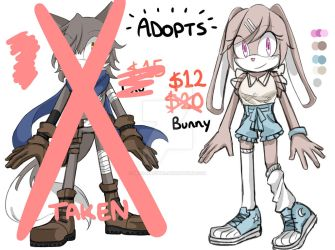 Sonic Adoptables Bunny [OPEN] by miko-maestra