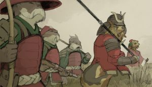 Ribenguo Warband by HeartGear