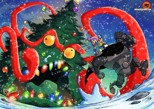 Gumbo Christmas by AbigailRyder