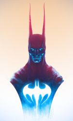 Batman in Color by MitchGrave