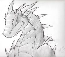 Dragon Head by Ludren