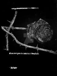 Roses and Thorns by Jarn-Argence