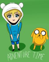 Adventure Time by thecub001