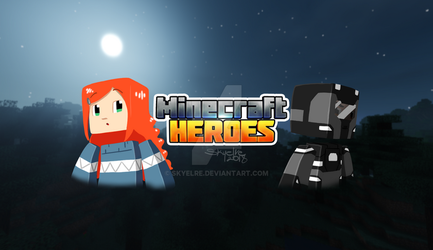 New Minecraft Heroes Banner by Skyelre