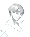 Avatar OC Nari Bust Sketch by RazorXSketch