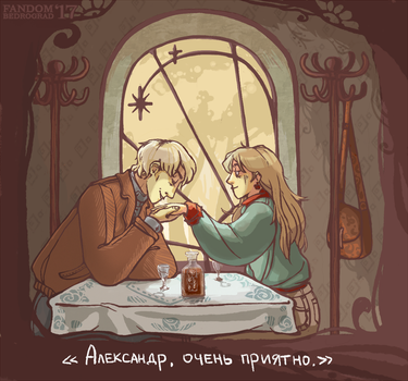 [fanart] goshka your hair roots... by housewife-daily