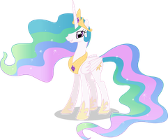 Princess Celestia Vector #01 by simplyFeatherbrain