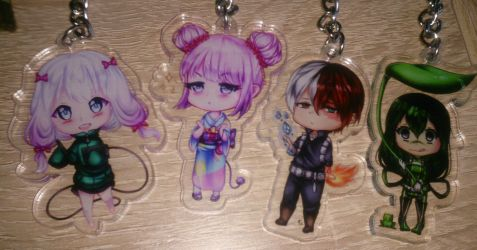 Keychains by Melwina17