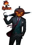 [RENDER]The Pumpkin Man by Lukalipt