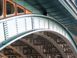 Southwark Bridge by zaphotonista