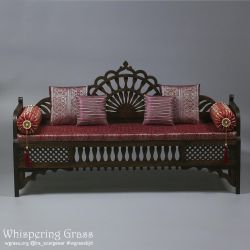 Moroccan sofa 1/3, 65 cm long. by scargeear
