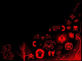 black and red emo background by iamthemagic1