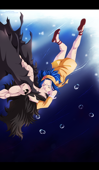Fairy Tail 396 - Underwater by KhalilXPirates