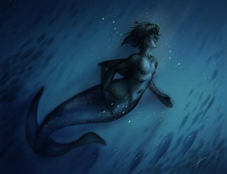 |C| Deep sea orca hunter by Asano-nee