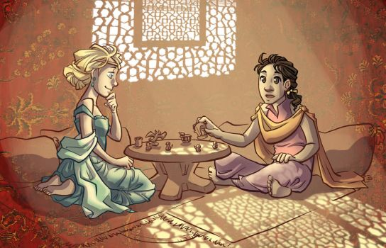 A game of cyvasse by poly-m