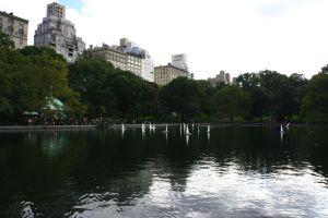 Lake in Central Park by Datasmurf