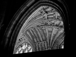 abbey arch by awjay