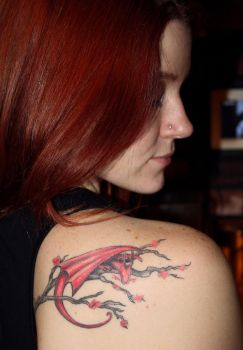 Dragon Tattoo 2 by windresistant