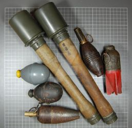 grenades collection