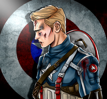 Captain America by Chrisily
