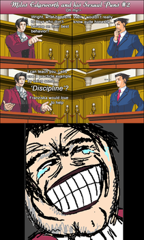 Miles Edgeworth and His Sexual Puns 2 by DarkMatter89
