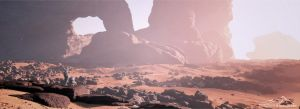 The Red Planet prt. 1 by 3DLandscapeArtist