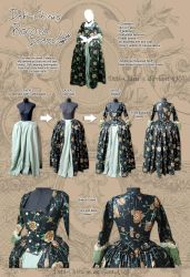 My Rococo Dress by Cospigeon