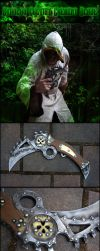 Cthulhu Cultist Cresent Blade by AetherAnvil