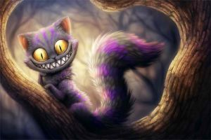Cheshire Kitty by NightmaresWelcomed