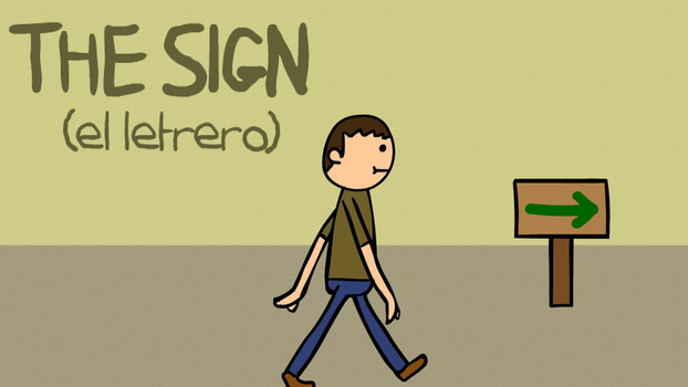 The Sign (animated short) by creepyboy