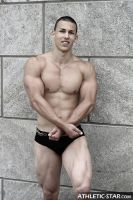 Muscular Athlete by philvegas