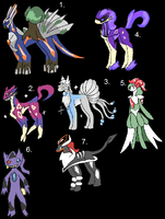 Poke Fusion Batch 2 by SomeOrdinaryArtists