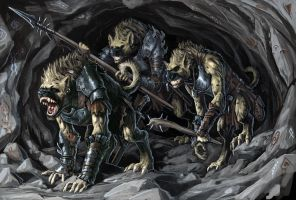 Gnoll Defenders by BenWootten