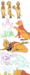 Undertale sketches_001 by QueensDaughters