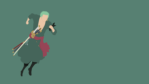Roronoa Zoro (One Piece) by ncoll36