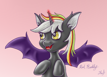 Red Batkky[Speed Drawing] by FancxyFox